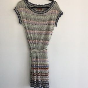 MISSONI wool blend dress size 42 made in Italy